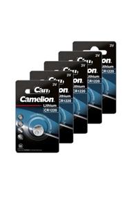 Camelion 5x CR1220 Knopfzelle (40 mAh)