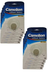 Camelion 10x CR1632 Knopfzelle (140 mAh)