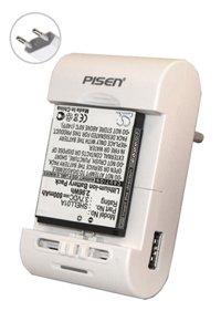 Pisen Universal AC adapter / charger für PDA- und Smartphonebatterien