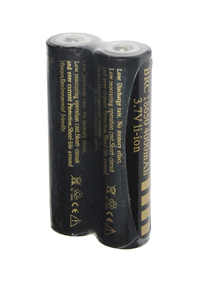 UltraFire 2x 18650 battery (4000 mAh, Wiederaufladbar)